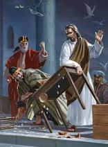 Jesus in temple